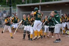 CIAC Softball - NVL Tournament SF's - #2 Holy Cross 3 vs. #3 Torrington 2 - Photo (170)