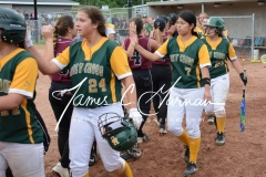 CIAC Softball - NVL Tournament SF's - #2 Holy Cross 3 vs. #3 Torrington 2 - Photo (173)