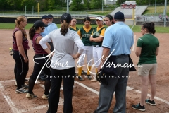 CIAC Softball - NVL Tournament SF's - #2 Holy Cross 3 vs. #3 Torrington 2 - Photo (3)