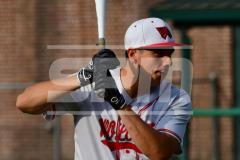 CIAC T. BASE, SF's; #1 Wolcott 3 vs. #5 Woodland 2 - Photo # 008