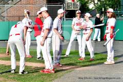 CIAC T. BASE, SF's; #1 Wolcott 3 vs. #5 Woodland 2 - Photo # 125