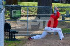 CIAC T. BASE, SF's; #1 Wolcott 3 vs. #5 Woodland 2 - Photo # 150
