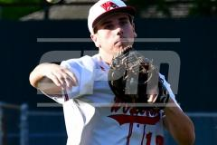 CIAC T. BASE, SF's; #1 Wolcott 3 vs. #5 Woodland 2 - Photo # 213