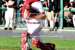 CIAC T. BASE, SF's; #1 Wolcott 3 vs. #5 Woodland 2 - Photo # 215