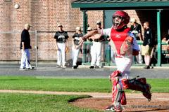 CIAC T. BASE, SF's; #1 Wolcott 3 vs. #5 Woodland 2 - Photo # 216