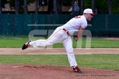 CIAC T. BASE, SF's; #1 Wolcott 3 vs. #5 Woodland 2 - Photo # 601