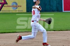 CIAC T. BASE, SF's; #1 Wolcott 3 vs. #5 Woodland 2 - Photo # 616