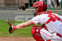 CIAC T. BASE, SF's; #1 Wolcott 3 vs. #5 Woodland 2 - Photo # 620