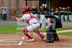CIAC T. BASE, SF's; #1 Wolcott 3 vs. #5 Woodland 2 - Photo # 624