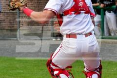 CIAC T. BASE, SF's; #1 Wolcott 3 vs. #5 Woodland 2 - Photo # 626