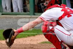 CIAC T. BASE, SF's; #1 Wolcott 3 vs. #5 Woodland 2 - Photo # 632