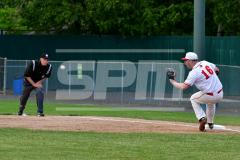CIAC T. BASE, SF's; #1 Wolcott 3 vs. #5 Woodland 2 - Photo # 640