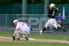 CIAC T. BASE, SF's; #1 Wolcott 3 vs. #5 Woodland 2 - Photo # 643