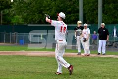 CIAC T. BASE, SF's; #1 Wolcott 3 vs. #5 Woodland 2 - Photo # 701