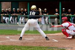 CIAC T. BASE, SF's; #1 Wolcott 3 vs. #5 Woodland 2 - Photo # 703