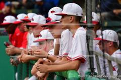 CIAC T. BASE, SF's; #1 Wolcott 3 vs. #5 Woodland 2 - Photo # 724