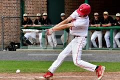 CIAC T. BASE, SF's; #1 Wolcott 3 vs. #5 Woodland 2 - Photo # 774