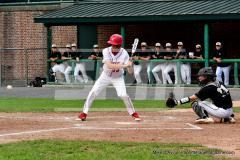 CIAC T. BASE, SF's; #1 Wolcott 3 vs. #5 Woodland 2 - Photo # 778