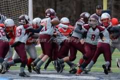CT Pop Warner Football Div III 12U State Finals - Naugatuck 22 vs. Wolcott 0 - Photo (6)