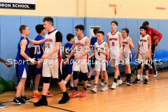 Gallery CTBC Boys Basketball Portland 47 vs. East Haddam 50