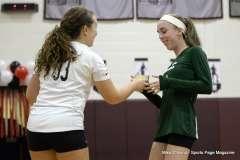 Farmington High Girls Volleyball Senior Night (12)