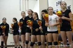Farmington High Girls Volleyball Senior Night (25)
