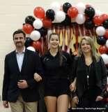 Farmington High Girls Volleyball Senior Night (50)