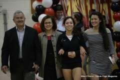 Farmington High Girls Volleyball Senior Night (57)