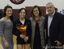 Farmington High Girls Volleyball Senior Night (59)