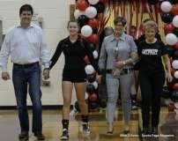 Farmington High Girls Volleyball Senior Night (63)