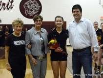 Farmington High Girls Volleyball Senior Night (67)