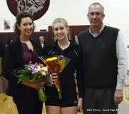 Farmington High Girls Volleyball Senior Night (76)
