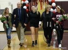 Farmington High Girls Volleyball Senior Night (81)