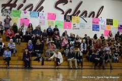 Farmington High Girls Volleyball Senior Night (87)
