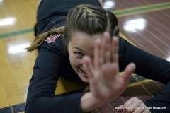 CIAC Girls Volleyball - Farmington Senior Night Warmups - Photo # (10)