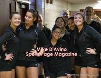 CIAC Girls Volleyball - Farmington Senior Night Warmups - Photo # (2)