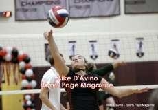 CIAC Girls Volleyball - Farmington Senior Night Warmups - Photo # (26)