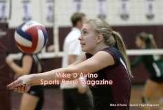 CIAC Girls Volleyball - Farmington Senior Night Warmups - Photo # (27)