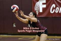CIAC Girls Volleyball - Farmington Senior Night Warmups - Photo # (30)