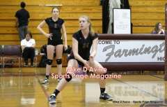 CIAC Girls Volleyball - Farmington Senior Night Warmups - Photo # (45)