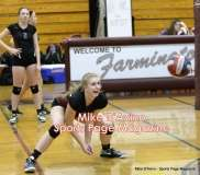 CIAC Girls Volleyball - Farmington Senior Night Warmups - Photo # (47)