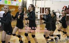 CIAC Girls Volleyball - Farmington Senior Night Warmups - Photo # (6)