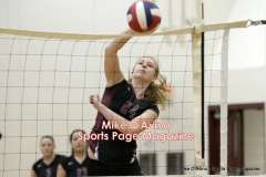 CIAC Girls Volleyball - Farmington Senior Night Warmups - Photo # (74)