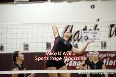 CIAC Girls Volleyball - Farmington Senior Night Warmups - Photo # (75)