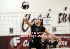 CIAC Girls Volleyball - Farmington Senior Night Warmups - Photo # (79)