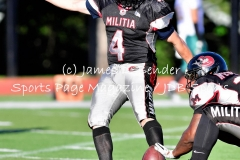 Gallery MLF: Western CT Militia 46 vs. Connecticut Bombers 0
