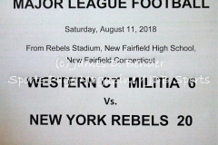 Gallery MLF: Western CT Militia 6 vs. New York Rebels 20