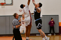 NCAA Dll Basketball; Post vs. Holy Family - Photo # 284