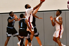 NCAA Dll Basketball; Post vs. Holy Family - Photo # 379