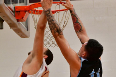 NCAA Dll Basketball; Post vs. Holy Family - Photo # 391